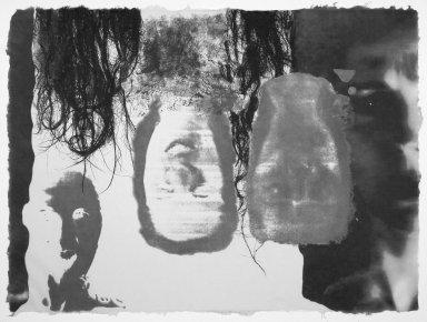 Kiki Smith (American, born Germany, 1954). <em>[Untitled]</em>, 1991. Lithograph, 22 1/2 x 30 1/2 in.  (57.2 x 77.5 cm). Brooklyn Museum, Emily Winthrop Miles Fund, 1999.17.8. © artist or artist's estate (Photo: Brooklyn Museum, 1999.17.8.jpg)