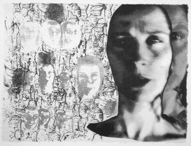 Kiki Smith (American, born Germany, 1954). <em>[Untitled]</em>, 1991. Lithograph, 22 1/2 x 30 1/2 in.  (57.2 x 77.5 cm). Brooklyn Museum, Emily Winthrop Miles Fund, 1999.17.9. © artist or artist's estate (Photo: Brooklyn Museum, 1999.17.9.jpg)