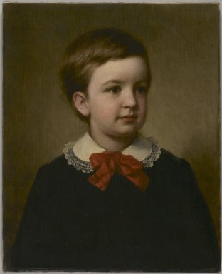 George Augustus Baker Jr. (American, 1821-1880). <em>Horace Southwick</em>, 1877. Oil on canvas, 21 1/8 x 17 3/16 in. (53.7 x 43.7 cm). Brooklyn Museum, Gift of the American Art Council, 1999.54.4 (Photo: Brooklyn Museum, 1999.54.4_PS2.jpg)