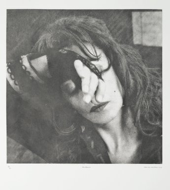 Tracey Moffatt (Australian, born 1960). <em>Laudanum</em>, 1998. Photogravure, sheet: 30 1/8 x 22 3/4 in. (76.5 x 57.8 cm). Brooklyn Museum, Alfred T. White Fund, 1999.80.11. © artist or artist's estate (Photo: Brooklyn Museum, 1999.80.11_PS1.jpg)