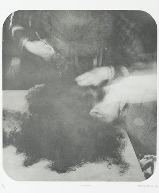 Tracey Moffatt (Australian, born 1960). <em>Laudanum</em>, 1998. Photogravure, sheet: 30 1/8 x 22 3/4 in. (76.5 x 57.8 cm). Brooklyn Museum, Alfred T. White Fund, 1999.80.13. © artist or artist's estate (Photo: Brooklyn Museum, 1999.80.13_PS1.jpg)
