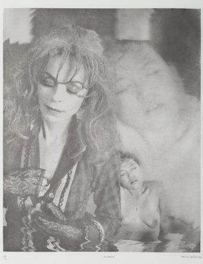 Tracey Moffatt (Australian, born 1960). <em>Laudanum</em>, 1998. Photogravure, sheet: 30 1/8 x 22 3/4 in. (76.5 x 57.8 cm). Brooklyn Museum, Alfred T. White Fund, 1999.80.15. © artist or artist's estate (Photo: Brooklyn Museum, 1999.80.15_PS1.jpg)