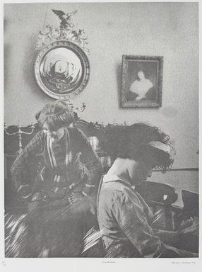 Tracey Moffatt (Australian, born 1960). <em>Laudanum</em>, 1998. Photogravure, sheet: 30 1/8 x 22 3/4 in. (76.5 x 57.8 cm). Brooklyn Museum, Alfred T. White Fund, 1999.80.17. © artist or artist's estate (Photo: Brooklyn Museum, 1999.80.17_PS1.jpg)