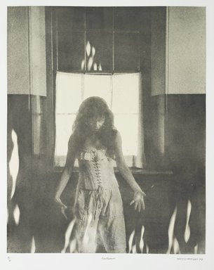 Tracey Moffatt (Australian, born 1960). <em>Laudanum</em>, 1998. Photogravure, sheet: 30 1/8 x 22 3/4 in. (76.5 x 57.8 cm). Brooklyn Museum, Alfred T. White Fund, 1999.80.18. © artist or artist's estate (Photo: Brooklyn Museum, 1999.80.18_PS1.jpg)