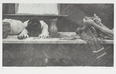 Tracey Moffatt (Australian, born 1960). <em>Laudanum</em>, 1998. Photogravure, sheet: 30 1/8 x 22 3/4 in. (76.5 x 57.8 cm). Brooklyn Museum, Alfred T. White Fund, 1999.80.3. © artist or artist's estate (Photo: Brooklyn Museum, 1999.80.3_PS1.jpg)