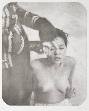 Tracey Moffatt (Australian, born 1960). <em>Laudanum</em>, 1998. Photogravure, sheet: 30 1/8 x 22 3/4 in. (76.5 x 57.8 cm). Brooklyn Museum, Alfred T. White Fund, 1999.80.6. © artist or artist's estate (Photo: Brooklyn Museum, 1999.80.6_PS1.jpg)
