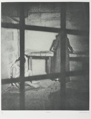Tracey Moffatt (Australian, born 1960). <em>Laudanum</em>, 1998. Photogravure, sheet: 30 1/8 x 22 3/4 in. (76.5 x 57.8 cm). Brooklyn Museum, Alfred T. White Fund, 1999.80.7. © artist or artist's estate (Photo: Brooklyn Museum, 1999.80.7_PS1.jpg)