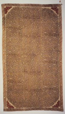 Katchen. <em>Carpet</em>, late 19th-early 20th century. Wool, 14 3/16 x 43 5/16 in. (36 x 110 cm). Brooklyn Museum, Museum Expedition 1920, Robert B. Woodward Memorial Fund, 20.968. Creative Commons-BY (Photo: Brooklyn Museum, 20.968_transp6206.jpg)