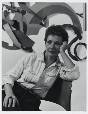 Arthur Mones (American, 1919-1998). <em>Sylvia Stone</em>. Gelatin silver photograph, image:  13 1/2 x 10 1/2 in.  (34.3 x 26.7 cm);. Brooklyn Museum, Gift of Wayne and Stephanie Mones at the request of their father, Arthur Mones, 2000.120.3. © artist or artist's estate (Photo: Brooklyn Museum, 2000.120.3_PS4.jpg)