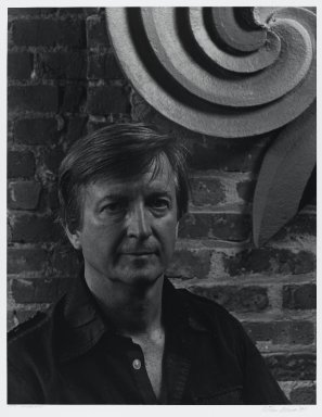 Arthur Mones (American, 1919-1998). <em>Jack Youngerman</em>. Gelatin silver photograph, image:  13 1/2 x 10 1/2 in.  (34.3 x 26.7 cm);. Brooklyn Museum, Gift of Wayne and Stephanie Mones at the request of their father, Arthur Mones, 2000.120.5. © artist or artist's estate (Photo: Brooklyn Museum, 2000.120.5_PS4.jpg)