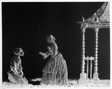 David Levinthal (American, born 1949). <em>Eva and Aunt Ophelia</em>, 1999-2000. Photogravure, sheet: 16 15/16 x 20 1/16 in. (43 x 51 cm). Brooklyn Museum, Gift of Alexander Liberman, by exchange, 2000.30.6. © artist or artist's estate (Photo: Brooklyn Museum, 2000.30.6_bw.jpg)