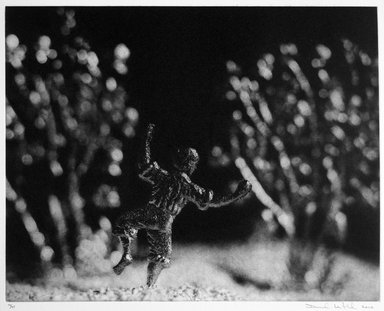 David Levinthal (American, born 1949). <em>Dancing in the Field</em>, 1999-2000. Photogravure, sheet: 17 x 20 in. (43.2 x 50.8 cm). Brooklyn Museum, Gift of Alexander Liberman, by exchange, 2000.30.8. © artist or artist's estate (Photo: Brooklyn Museum, 2000.30.8_bw.jpg)