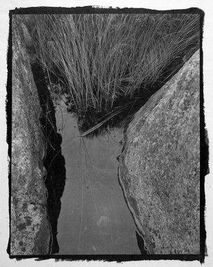 "Koichiro Kurita (Japanese, born 1943). <em>""Fenske Lake"" Boundary Water, MN</em>, 1998. Platinum palladium print, sheet: 25 1/2 x 19 1/2 in. (64.8 x 49.5 cm). Brooklyn Museum, Gift of Wallace B. Putnam from the Estate of Consuelo Kanaga, by exchange, 2000.33.1. © artist or artist's estate (Photo: Brooklyn Museum, 2000.33.1_bw.jpg)"