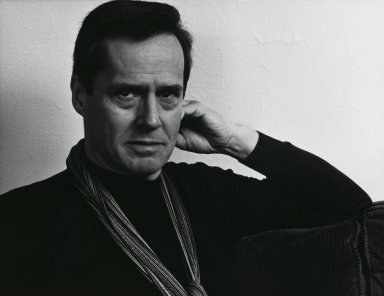 Arthur Mones (American, 1919-1998). <em>Ned Rorem</em>, 1983. Gelatin silver photograph, image: 10 1/2 x 13 1/2 in.  (26.7 x 34.3 cm);. Brooklyn Museum, Gift of Wayne and Stephanie Mones at the request of their father, Arthur Mones, 2000.89.11. © artist or artist's estate (Photo: Brooklyn Museum, 2000.89.11_PS4.jpg)