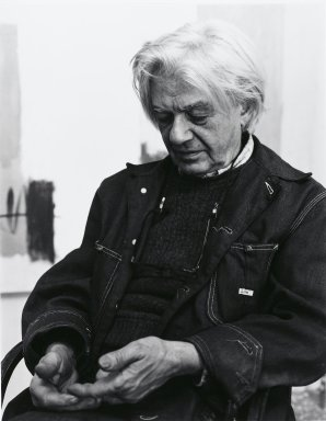 Arthur Mones (American, 1919-1998). <em>Georgio Cavallon</em>, 1980. Gelatin silver photograph, image:  13 1/2 x 10 1/2 in.  (34.3 x 26.7 cm;. Brooklyn Museum, Gift of Wayne and Stephanie Mones at the request of their father, Arthur Mones, 2000.89.33. © artist or artist's estate (Photo: Brooklyn Museum, 2000.89.33_PS4.jpg)