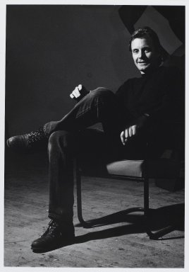 Arthur Mones (American, 1919-1998). <em>Mel Kendrick</em>, 1989. Gelatin silver photograph, image:  13 1/2 x 10 1/2 in.  (34.3 x 26.7 cm);. Brooklyn Museum, Gift of Wayne and Stephanie Mones at the request of their father, Arthur Mones, 2000.89.44. © artist or artist's estate (Photo: Brooklyn Museum, 2000.89.44_PS4.jpg)