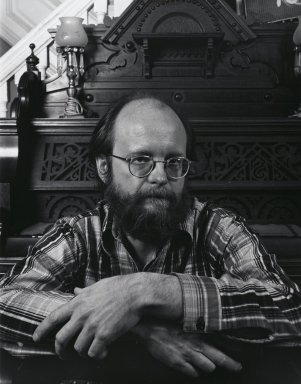 Arthur Mones (American, 1919-1998). <em>Charles Wvorinem</em>, 1982. Gelatin silver photograph, image:  13 1/2 x 10 1/2 in.  (34.3 x 26.7 cm);. Brooklyn Museum, Gift of Wayne and Stephanie Mones at the request of their father, Arthur Mones, 2000.89.4. © artist or artist's estate (Photo: Brooklyn Museum, 2000.89.4_PS4.jpg)