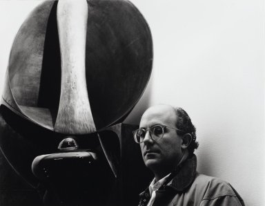 Arthur Mones (American, 1919-1998). <em>John Newman</em>, 1988. Gelatin silver photograph, image:  10 1/2 x 13 1/2 in.  (26.7 x 34.3 cm);. Brooklyn Museum, Gift of Wayne and Stephanie Mones at the request of their father, Arthur Mones, 2000.89.72. © artist or artist's estate (Photo: Brooklyn Museum, 2000.89.72_PS4.jpg)