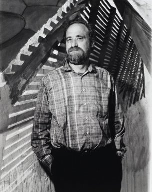 Arthur Mones (American, 1919-1998). <em>Robert Stackhouse</em>, 1988. Gelatin silver photograph, image:  13 1/2 x 10 1/2 in.  (34.3 x 26.7 cm);. Brooklyn Museum, Gift of Wayne and Stephanie Mones at the request of their father, Arthur Mones, 2000.89.78. © artist or artist's estate (Photo: Brooklyn Museum, 2000.89.78_PS4.jpg)
