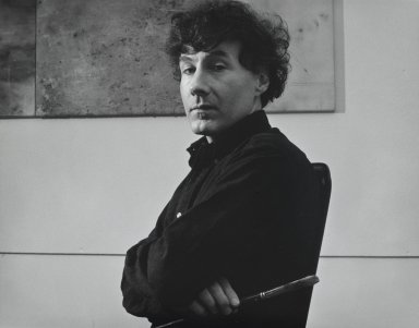 Arthur Mones (American, 1919-1998). <em>Edward Lieber</em>. Gelatin silver photograph, 10 1/2 x  13 3/8 in. Brooklyn Museum, Gift of Wayne and Stephanie Mones at the request of their father, Arthur Mones, 2001.76.10. © artist or artist's estate (Photo: Brooklyn Museum, 2001.76.10_PS4.jpg)