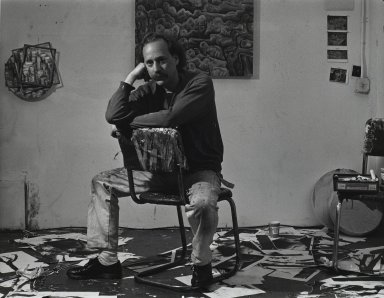 Arthur Mones (American, 1919-1998). <em>Jonathan Sandhofer</em>. Gelatin silver photograph, 10 1/2 x 13 1/2 in. Brooklyn Museum, Gift of Wayne and Stephanie Mones at the request of their father, Arthur Mones, 2001.76.16. © artist or artist's estate (Photo: Brooklyn Museum, 2001.76.16_PS4.jpg)