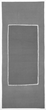 <em>Lawan Textile</em>, early 20th century. Resist dyed ceremonial silk (lawan), with silk canvas: 30 x 40 x 1 1/4 in. (76.2 x 101.6 x 3.2 cm). Brooklyn Museum, Gift of Dr. Alvin E. Friedman-Kien, 2002.119.20. Creative Commons-BY (Photo: Brooklyn Museum, 2002.119.20_bw.jpg)