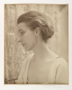 Consuelo Kanaga (American, 1894-1978). <em>Alice Rohrer</em>, 1920s. Gold toned gelatin silver photograph, Sheet: 10 x 7 3/4 in. (25.4 x 19.7 cm). Brooklyn Museum, Gift of David and Marcia Raymond in memory of Paul Raymond