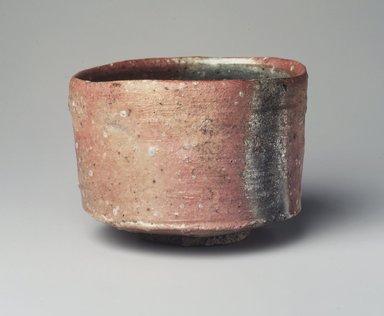 Tsujimura Shiro (Japanese, born 1947). <em>Shigaraki Tea Bowl</em>, 1999. Stoneware, shigaraki ware with natural ash glaze, 3 1/2 x 4 13/16 in. (8.9 x 12.2 cm). Brooklyn Museum, Gift of Koichi Yanagi, 2003.67.2. Creative Commons-BY (Photo: Brooklyn Museum, 2003.67.2_transp6310.jpg)