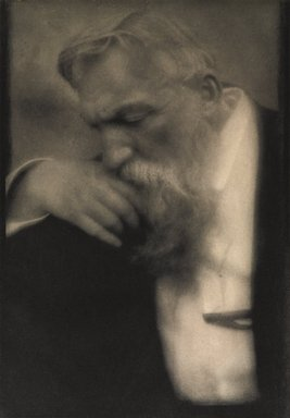 Edward Steichen (American, born Luxembourg, 1879-1973). <em>M. Auguste Rodin</em>, 1911. Photogravure, Image: 7 x 10 1/4 in. (17.8 x 26 cm). Brooklyn Museum, Gift of Arnold and Pamela Lehman, 2003.76.2 (Photo: , 2003.76.2_PS11.jpg)