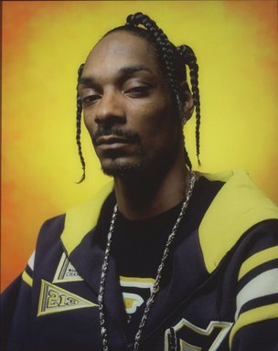 Andres Serrano (American, born 1950). <em>America (Snoop Dogg)</em>, 2002. Cibachrome print, 45 1/4 x 37 5/8 in. (114.9 x 95.6 cm). Brooklyn Museum, Gift of Joseph P. Carroll, Rosemary McNamara, and Mr. and Mrs. William A. Putnam, by exchange, 2004.19. © artist or artist's estate (Photo: Brooklyn Museum, 2004.19.jpg)
