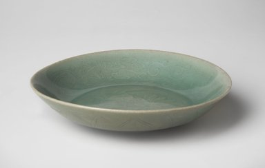 <em>Bowl</em>, last half 12th century. Stoneware with celadon glaze, Height: 1 5/16 in. (3.3 cm). Brooklyn Museum, The Peggy N. and Roger G. Gerry Collection, 2004.28.243. Creative Commons-BY (Photo: , 2004.28.243_overall_PS11.jpg)