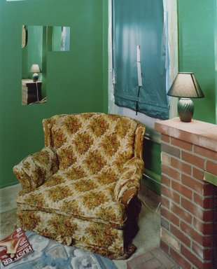 Alec Soth (American, born 1969). <em>Sugar's, Davenport, IA</em>, 2002. Chromogenic photograph on resin-coated paper, 50 x 40 in. (127 x 101.6 cm). Brooklyn Museum, Gift of Kenneth H. Schweber, 2004.69. © artist or artist's estate (Photo: Brooklyn Museum, 2004.69.jpg)
