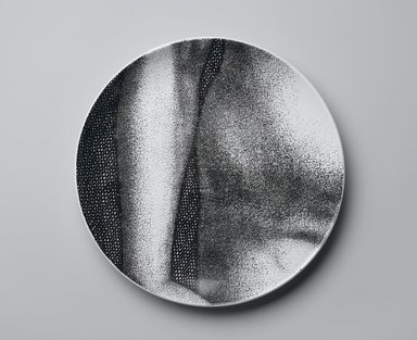 Piero Fornasetti (Italian, 1913-1988). <em>Plate, Eva</em>, ca. 1954. Glazed earthenware, 1 x 10 1/4 x 10 1/4 in. (2.5 x 26 x 26 cm). Brooklyn Museum, Gift of the Estate of Jane Adams Breed, 2005.37.14. Creative Commons-BY (Photo: Brooklyn Museum, 2005.37.14_PS2.jpg)