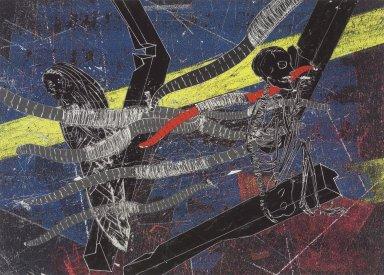 Kiki Smith (American, born Germany, 1954). <em>Untitled (Firmament 3)</em>, 2004. Pigment print, 16 3/16 x 21 in. (41.1 x 53.3 cm). Brooklyn Museum, Alfred T. White Fund, 2005.7.3. © artist or artist's estate (Photo: Brooklyn Museum, 2005.7.3.jpg)