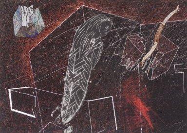 Kiki Smith (American, born Germany, 1954). <em>Untitled (Firmament 6)</em>, 2004. Pigment print, 16 3/16 x 21 in. (41.1 x 53.3 cm). Brooklyn Museum, Alfred T. White Fund, 2005.7.6. © artist or artist's estate (Photo: Brooklyn Museum, 2005.7.6.jpg)