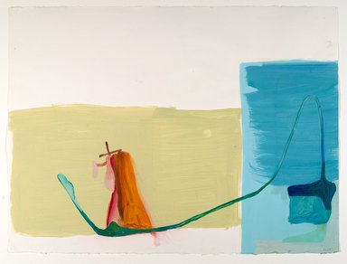 Amy Sillman (American, born 1955). <em>30 Drawings</em>, 2001-2002. Acrylic and opaque watercolor on paper, Each: 22 x 30 in. (55.9 x 76.2 cm). Brooklyn Museum, Purchase gift of John and Barbara Vogelstein, Norman and Arline Feinberg, Stephanie and Tim Ingrassia, and Phillip and Tracey Riese, 2008.53.2a-dd. © artist or artist's estate (Photo: , 2008.53.2aa_PS6.jpg)