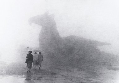 Nathan Lerner (American, 1913-1997). <em>Rainy Day</em>, 1981. Gelatin silver photograph, Sheet: 11 x 14 in. (27.9 x 35.6 cm). Brooklyn Museum, Gift of Kiyoko Lerner, 2011.25.30. © artist or artist's estate (Photo: Brooklyn Museum, 2011.25.30_PS4.jpg)