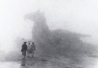 Nathan Lerner (American, 1913-1997). <em>Rainy Day</em>, 1981. Gelatin silver photograph, Sheet: 11 x 14 in. (27.9 x 35.6 cm). Brooklyn Museum, Gift of Kiyoko Lerner, 2011.25.30. © artist or artist's estate (Photo: Brooklyn Museum, 2011.25.30_PS4.jpg)