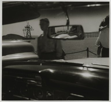 Nathan Lerner (American, 1913-1997). <em>San Raphael Ferry</em>, 1936-1937, printed later. Gelatin silver photograph mounted on board, mat: 16 7/8 x 13 7/8 in. (42.9 x 35.2 cm). Brooklyn Museum, Gift of Kiyoko Lerner, 2011.25.38. © artist or artist's estate (Photo: Brooklyn Museum, 2011.25.38_PS6.jpg)