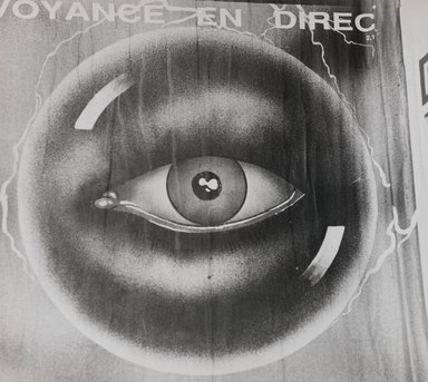 Nathan Lerner (American, 1913-1997). <em>[Untitled] (Eyeball)</em>, n.d. Gelatin silver photograph, Sheet: 8 1/2 x 9 1/2 in. (21.6 x 24.1 cm). Brooklyn Museum, Gift of Kiyoko Lerner, 2011.25.3. © artist or artist's estate (Photo: Brooklyn Museum, 2011.25.3_PS4.jpg)