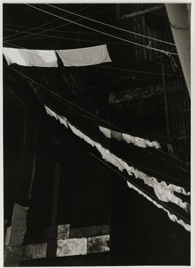 Nathan Lerner (American, 1913-1997). <em>City Light Box Study</em>, 1944-1945, printed later. Gelatin silver photograph mounted on board, mat: 16 7/8 x 13 7/8 in. (42.9 x 35.2 cm). Brooklyn Museum, Gift of Kiyoko Lerner, 2011.25.40. © artist or artist's estate (Photo: Brooklyn Museum, 2011.25.40_PS6.jpg)