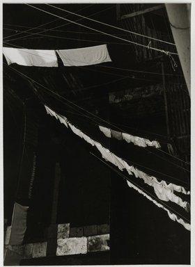 Nathan Lerner (American, 1913-1997). <em>City Light Box Study</em>, 1944-1945, printed later. Gelatin silver photograph mounted on board, mat: 16 7/8 x 13 7/8 in. (42.9 x 35.2 cm). Brooklyn Museum, Gift of Kiyoko Lerner, 2011.25.40. © artist or artist's estate (Photo: Brooklyn Museum, 2011.25.40_PS6.jpg)