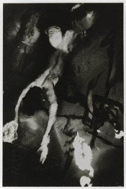 Nathan Lerner (American, 1913-1997). <em>The Swimmer</em>, 1935, printed later. Gelatin silver photograph mounted on board, mat: 16 7/8 x 14 in. (42.9 x 35.6 cm). Brooklyn Museum, Gift of Kiyoko Lerner, 2011.25.46. © artist or artist's estate (Photo: Brooklyn Museum, 2011.25.46_PS6.jpg)