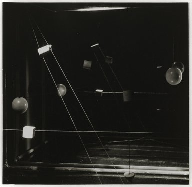 Nathan Lerner (American, 1913-1997). <em>[Untitled]</em>, 1938, printed later. Gelatin silver photograph mounted on board, mat: 16 7/8 x 14 in. (42.9 x 35.6 cm). Brooklyn Museum, Gift of Kiyoko Lerner, 2011.25.49. © artist or artist's estate (Photo: Brooklyn Museum, 2011.25.49_PS6.jpg)