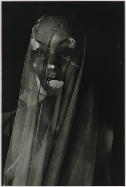 Nathan Lerner (American, 1913-1997). <em>ManniKin, Los Angeles</em>, 1965, printed later. Gelatin silver photograph, Sheet: 14 x 11 in. (35.6 x 27.9 cm). Brooklyn Museum, Gift of Kiyoko Lerner, 2011.25.50. © artist or artist's estate (Photo: Brooklyn Museum, 2011.25.50_PS6.jpg)