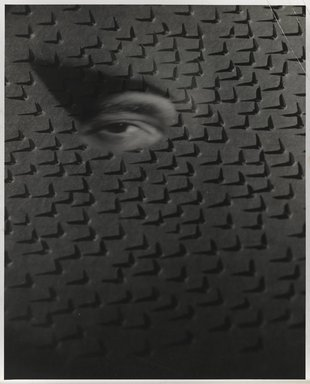 Nathan Lerner (American, 1913-1997). <em>Eye on Nails</em>, 1940, printed 1950's. Gelatin silver photograph, Sheet: 10 x 8 in. (25.4 x 20.3 cm). Brooklyn Museum, Gift of Kiyoko Lerner, 2011.25.51. © artist or artist's estate (Photo: Brooklyn Museum, 2011.25.51_PS6.jpg)