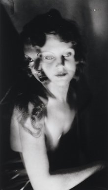 Nathan Lerner (American, 1913-1997). <em>Girl with Two Faces</em>, 1932, printed later. Gelatin silver photograph, Sheet: 13 1/2 x 9 1/4 in. (34.3 x 23.5 cm). Brooklyn Museum, Gift of Kiyoko Lerner, 2011.25.6. © artist or artist's estate (Photo: Brooklyn Museum, 2011.25.6_PS4.jpg)