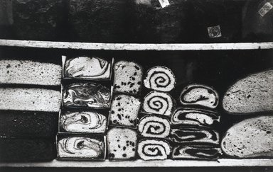 Nathan Lerner (American, 1913-1997). <em>Cakes in Window, New York, 1937</em>, Printed 1983. Selenium-toned print, Sheet: 16 x 20 in. (40.6 x 50.8 cm). Brooklyn Museum, Gift of Kiyoko Lerner, 2011.25.71. © artist or artist's estate (Photo: Brooklyn Museum, 2011.25.71_PS4.jpg)