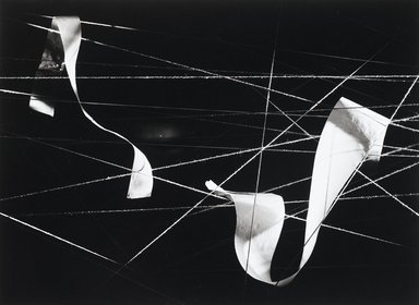 Nathan Lerner (American, 1913-1997). <em>Paper on String, Chicago 1938</em>, Printed 1983. Selenium-toned print, Sheet: 16 x 20 in. (40.6 x 50.8 cm). Brooklyn Museum, Gift of Kiyoko Lerner, 2011.25.73. © artist or artist's estate (Photo: Brooklyn Museum, 2011.25.73_PS4.jpg)