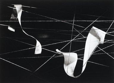 Nathan Lerner (American, 1913-1997). <em>Paper on String, Chicago 1938</em>, Printed 1983. Selenium-toned print, Sheet: 16 x 20 in. (40.6 x 50.8 cm). Brooklyn Museum, Gift of Kiyoko Lerner, 2011.25.73. © artist or artist's estate (Photo: Brooklyn Museum, 2011.25.73_PS4.jpg)
